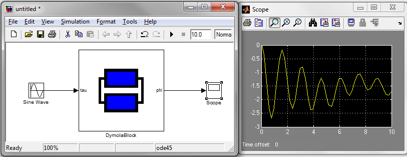 Dymola-Simulink interface - Claytex