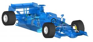 F1 car 2014 (2)