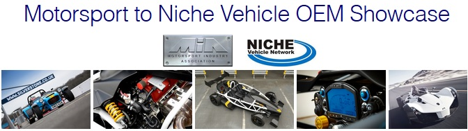 Motorsport to Niche Vehicle OEM Showcase