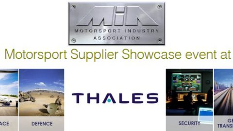 Motorsport Supplier Showcase Event at Thales – 16th June, Crawley