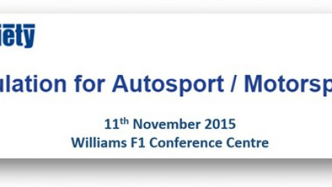 Multiphysics Simulation for Autosport / Motorsport Applications Seminar – 11th November 2015 – Williams F1 Conference Centre