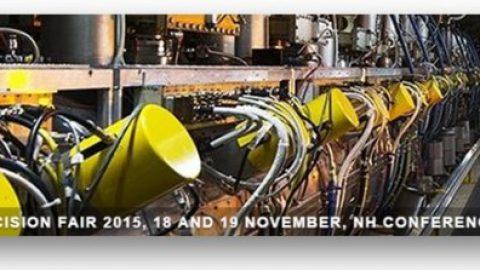 Precision Fair 2015 – 18th & 19th November – Veldhoven, The Netherlands