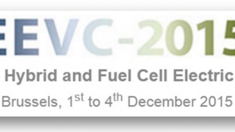 The European Electric Vehicle Congress (EEVC) 2015 – 1st-4th December, Brussels