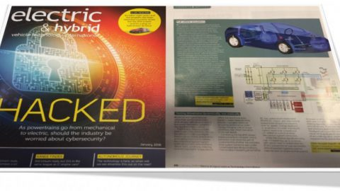 Claytex featured in the electric & hybrid vehicle technology international magazine