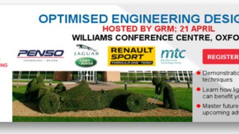 Optimised Engineering Design Conference 2016 – 21st April – Williams Conference Centre, Oxford