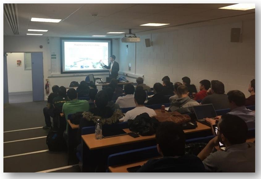 Claytex presenting at OxfordBrookes_2