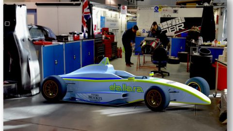 Claytex supports Oxford Brookes University to design the future of electric racing with Dallara Automobili