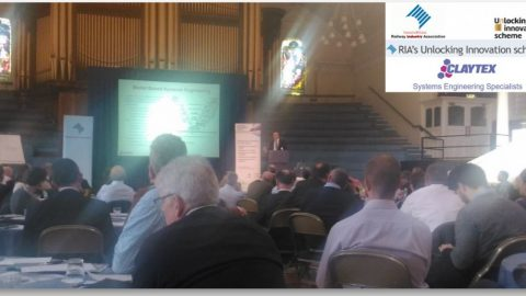 Claytex Presented at the Rail Industry Associaltion's 'Unlocking Innovation Scheme' Event – 15 June 2016
