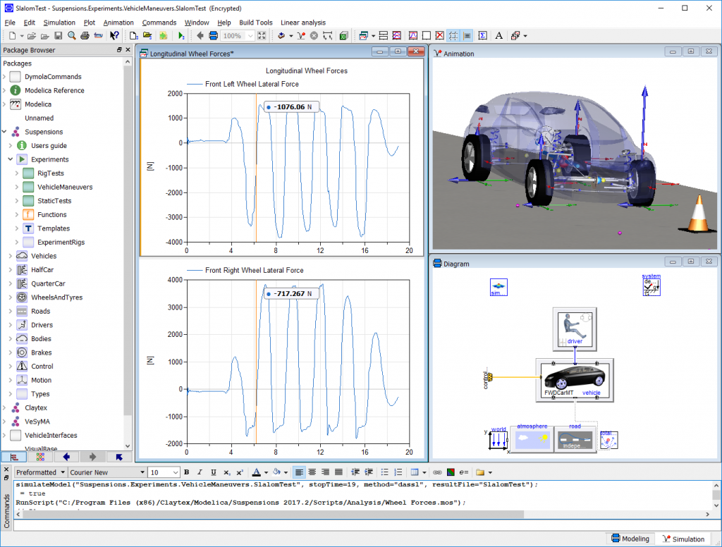 Dymola for multi-domain modelling and simulation using
