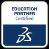Dassault Systemes Certified Training Partner Logo