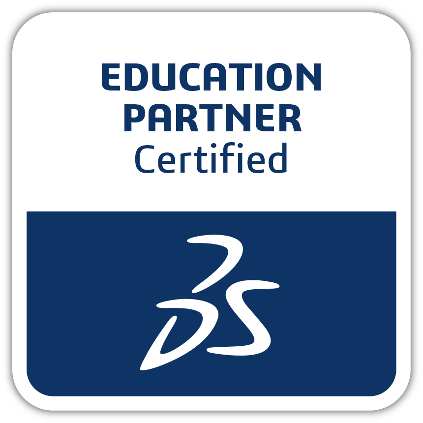 Dassault Systemes Certified Training Partner Logo