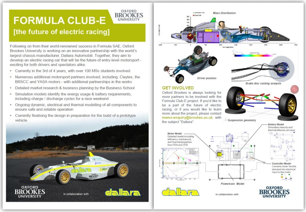 OBU & Dallara Flyer