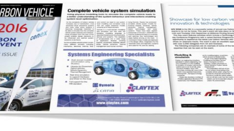 Claytex Featured in the Energy Engineering Magazine – LCV2016 Show Preview Issue