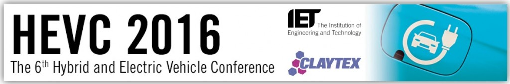 HEVC 2016 - 2nd & 3rd November 2016 - IET London, Savoy Place