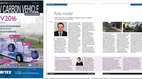 Energy Engineering Magazine – Claytex help their clients to make the most of complex simulation tools