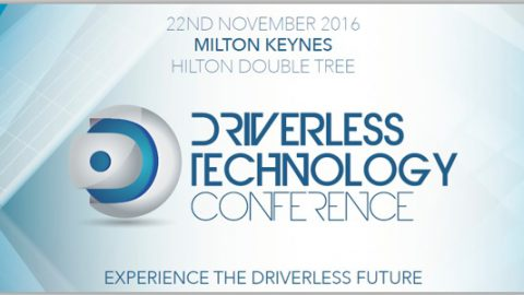 Driverless Technology Conference – 22nd November 2016 – Milton Keynes