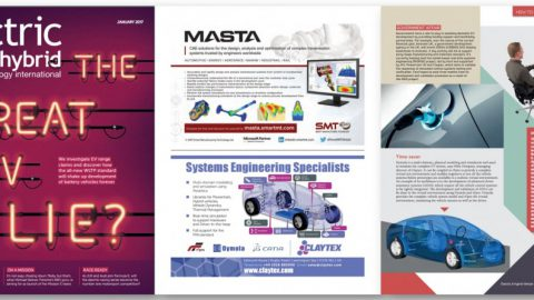 Claytex Featured in the Electric & Hybrid Vehicle Technology International –  Time saver