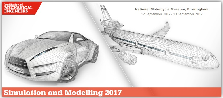 IMechE: Simulation and Modelling Conference - 12-13 September