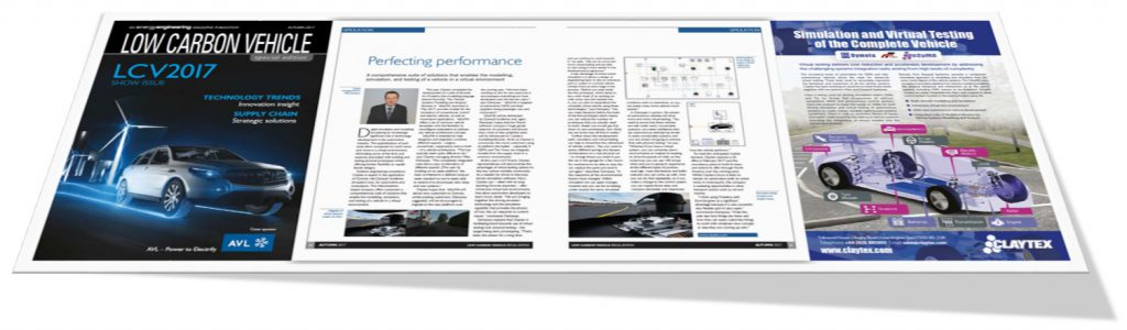 Energy Engineering Feature Claytex, LCV2017 Show Issue