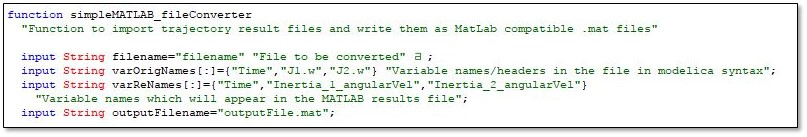 Results file reformatting for easier use in MATLAB - Claytex