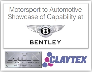 Motosrport to Automotive Showcase of Capability - Bentley - 24 October 2017