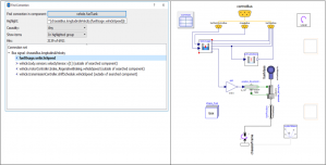 Figure 11 - Same fuel tank model in Figure 4 switched back using Find Connection command.