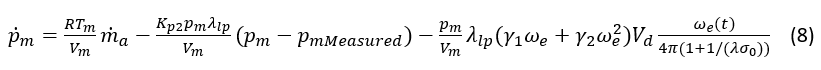 Substituting (7) into (6) and (6) into (5), equation (4) becomes