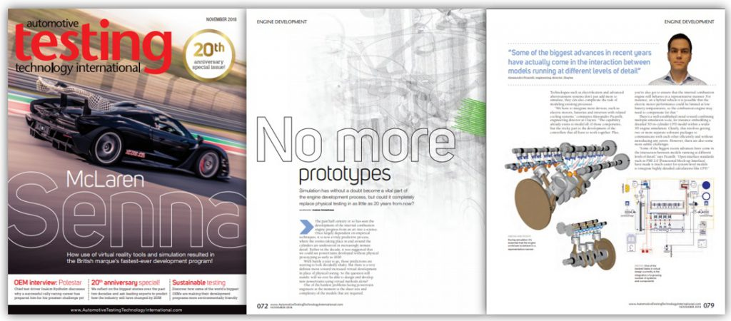Automotive Testing Technology International Feature Claytex - No more prototypes