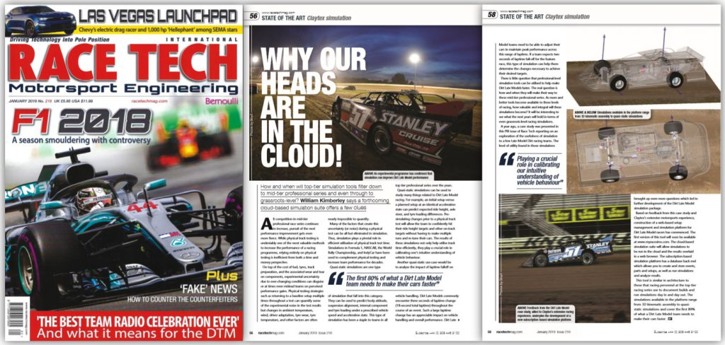 Race Tech Magazine - PRI Issue 2018