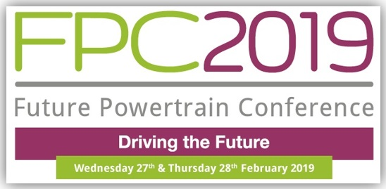 Future Powertrain Conference 2019 - 27 & 28 February, National Motorcycle Museum