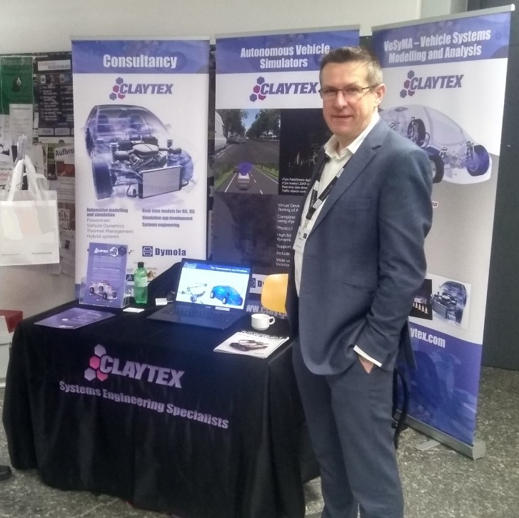 Claytex Stand at the 13th Modelica Conference