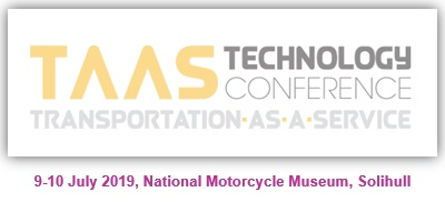 TaaS Technology Conference 2019 - 9th & 10th July - National Motorcycle Museum, Solihull