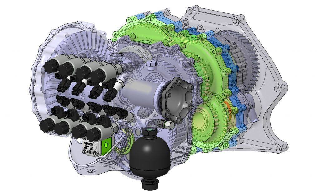 Figure 12. Light Speed Transmission created by Koenigsegg