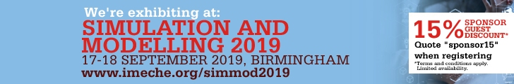 IMechE Simulation and Modelling 2019 - Discount code to attend