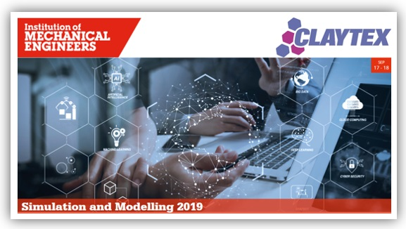 Claytex exhibit and present at the IMechE Simulation and Modelling 2019