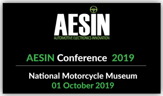 AESIN Conference - 1st October 2019 - National Motorcycle Museum, Solihull