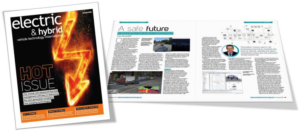 electric & hybrid vehicle technology international magazine feature Claytex - A safe future