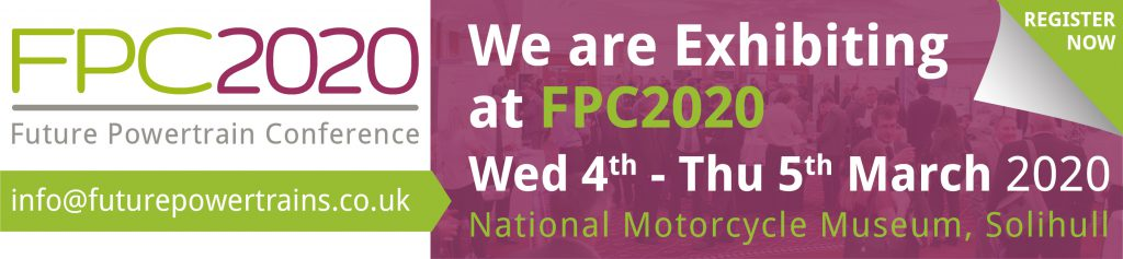 Future Powertrain Conference 2020 - 4th & 5th March, National Motorcycle Museum