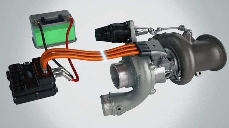 Figure 4. Garret E-Turbo (Autoblog, 2019)