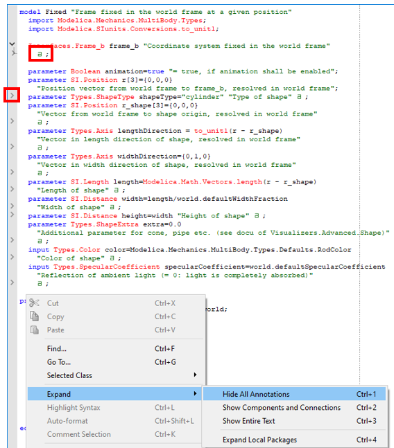Our Favourite Parameter Annotations in Dymola to Make Your Models More Usable