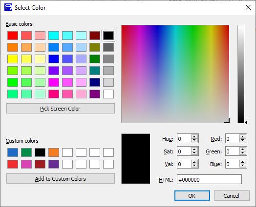 Figure 5: Colour Selector
