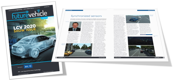 Future Vehicle Feature Claytex - LCV2020 Show Issue