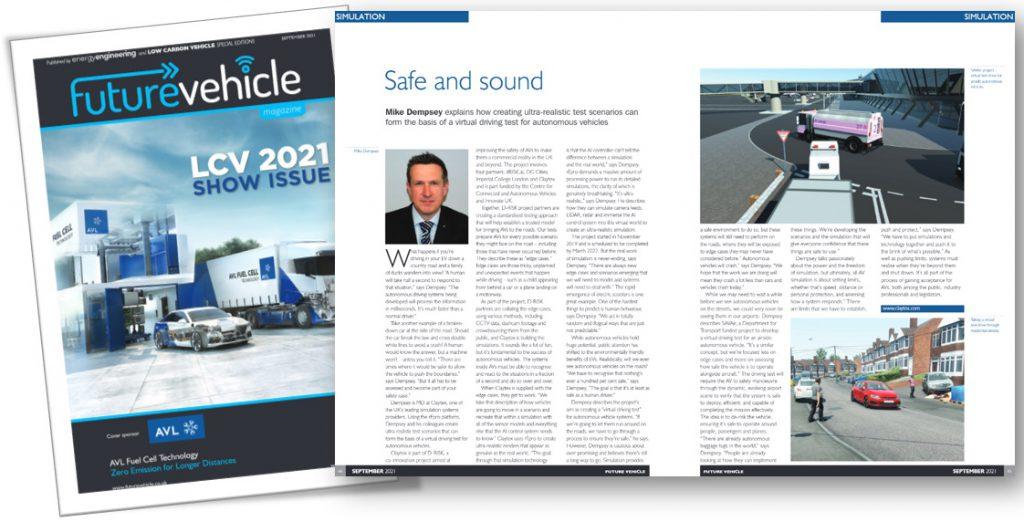 Future Vehicle - LCV2021 Show Issue - Claytex Interview